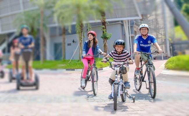 bicycle rental singapore